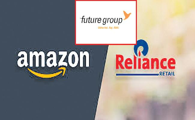 Amazon wins interim relief - Sakshi