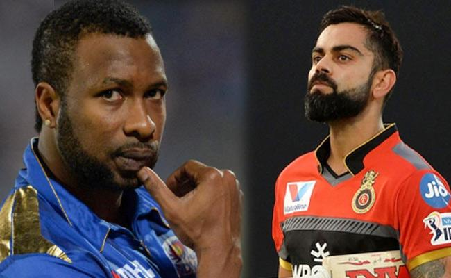 Mumbai Indians Won Toss Opt To Bowl Against RCB - Sakshi