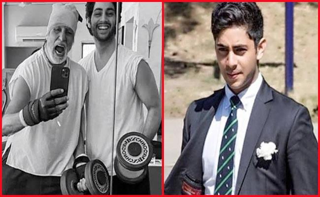 Amitabh Bachchans Grandson Agastya Debuts On Instagram - Sakshi