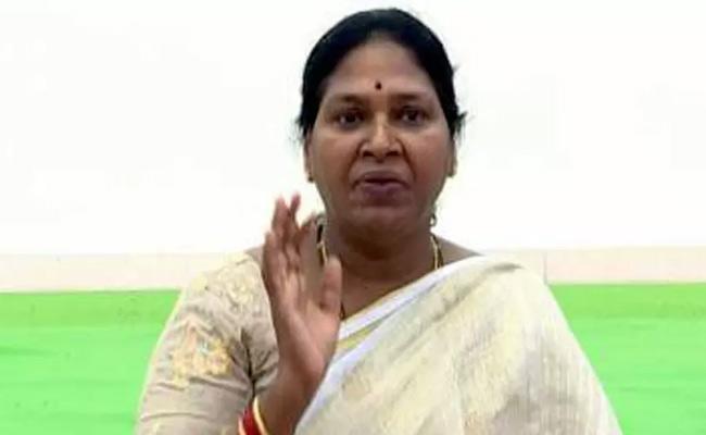 Pothula Sunitha Slams Chandrababu Naidu - Sakshi