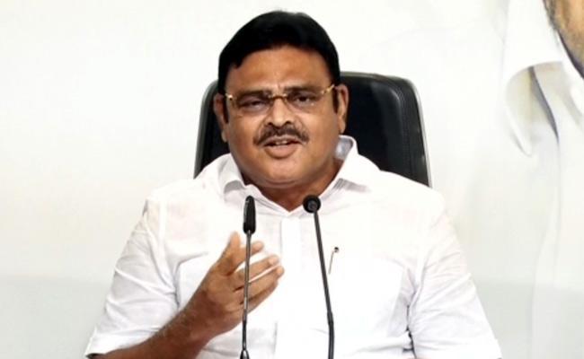 Ambati Rambabu Slams About Behaviour Of Nimmagadda Ramesh In Amaravati - Sakshi