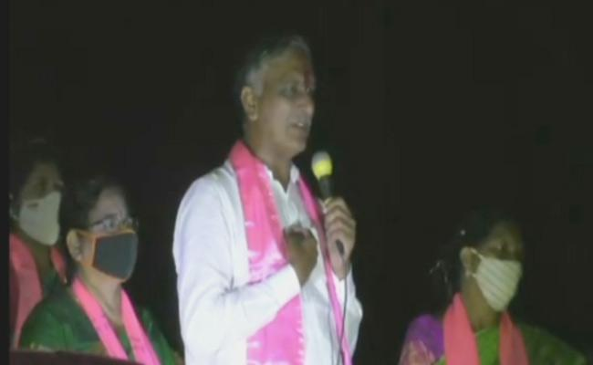 Dubbaka By Poll :  Harish Rao Comments In Election Campaign - Sakshi