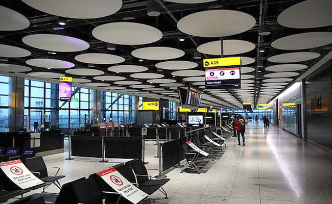 Airport In England Has Suffered Eceptional Losses Due To Corona - Sakshi