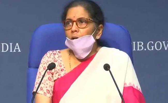 visible signs of economic revival but GDP growth may remain near zero says Sitharaman - Sakshi