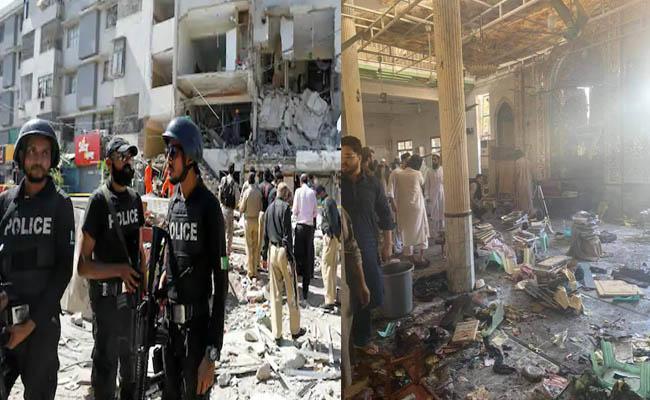 Seven children killed and 70 wounded in Peshawar Blast - Sakshi