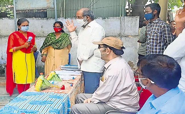 Volunteer System performance is good - Sakshi