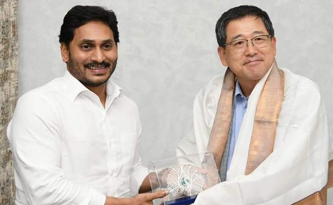 POSCO Officials Meets CM YS Jagan Mohan Reddy Over Investments - Sakshi