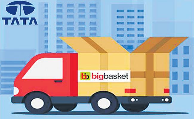 BigBasket in talks to sell majority stake to Tata Group - Sakshi