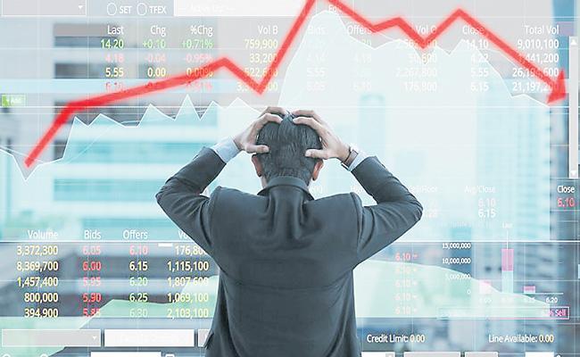 Sensex closes below 40K on Nifty falls 1.3percent - Sakshi