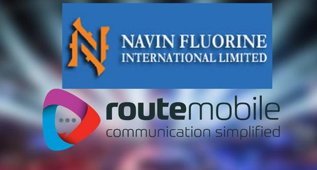 Navin flourine- Route mobile hits new highs - Sakshi