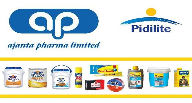 Pidilite industries- Ajantha pharma up on positive news - Sakshi