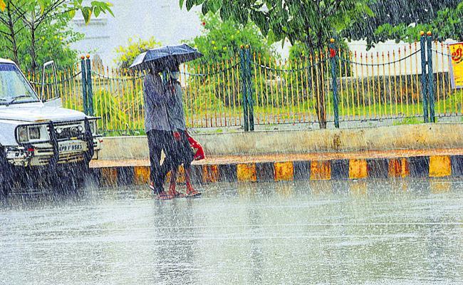 Northeast Monsoons Entering The Coastal Andhra - Sakshi