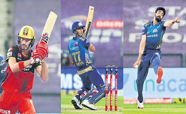 Mumbai Indians beat Royal Challengers Bangalore by 5 wickets - Sakshi