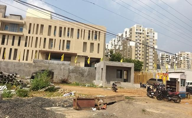 TDP Occupied Govt Place For Party Office - Sakshi