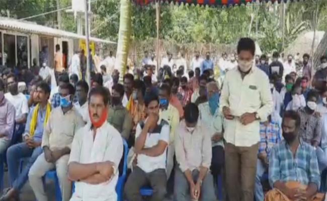 TDP Activists Protested Opposes To Samuel Johar  In Kovvuru Constituency - Sakshi