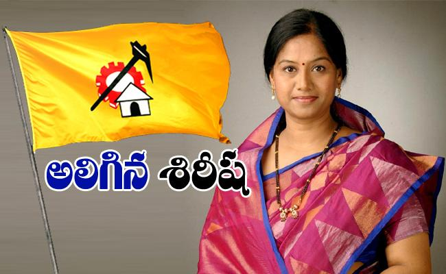 Gouthu Sirisha Is Dissatisfied With The Change Of TDP District President - Sakshi