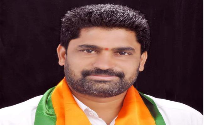 Gangadi Krishna Reddy Is Appointed As Karimnagar BJP New President - Sakshi