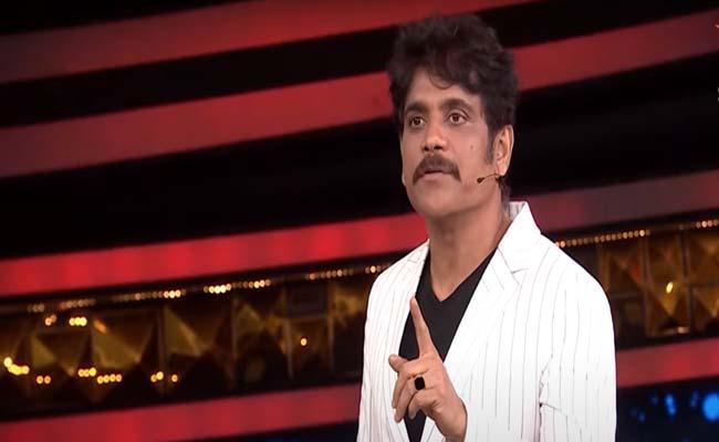 Bigg Boss 4 Telugu: Nagarjuna Akkineni Serious On Housemates - Sakshi