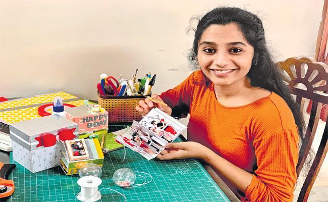Yamini Pernapati Scrapbook Expression Special Story - Sakshi