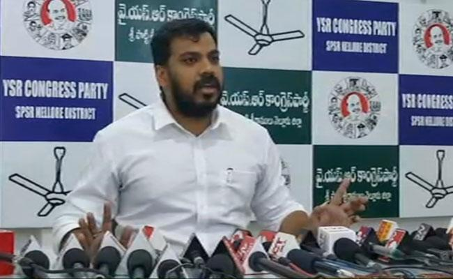 Minister Anil Kumar Yadav Strong Counter To Nara Lokesh Over His Comments - Sakshi