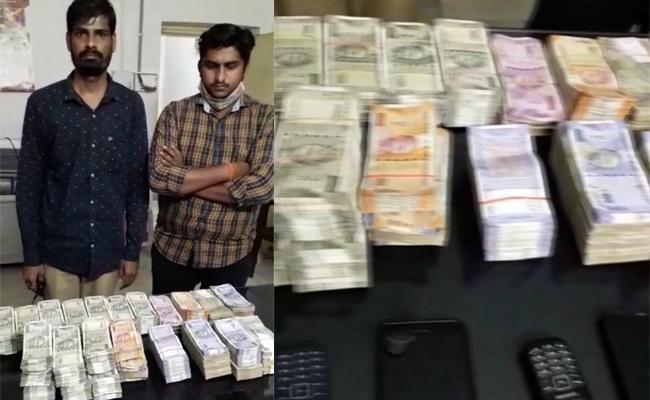 Hawala  Money Racket  Busted Two  Held In Hyderabad - Sakshi