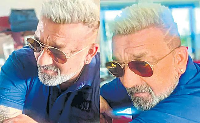 Sanjay Dutt New Hairstyle look - Sakshi