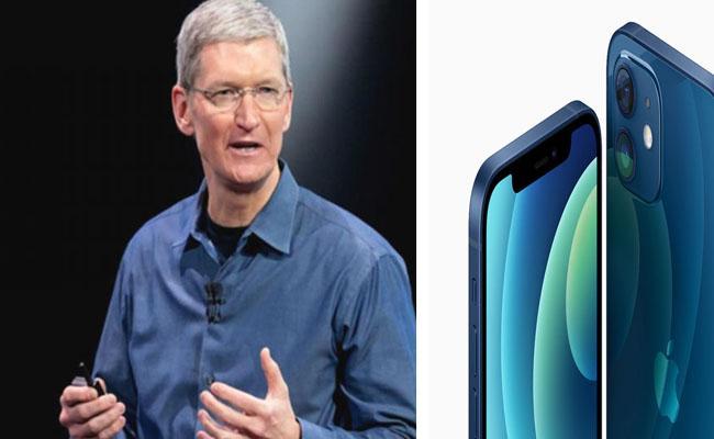 Apple saw record sales in India in September quarter: Tim Cook - Sakshi