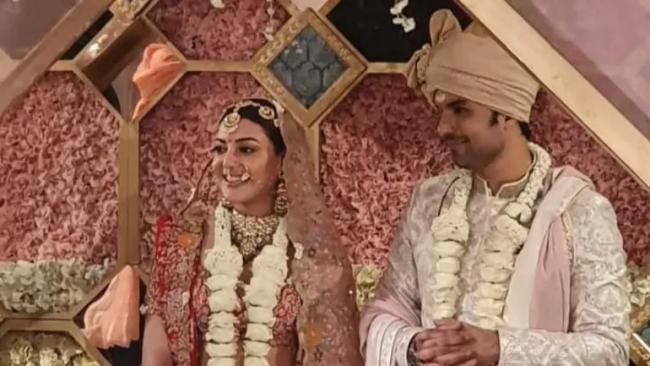 Kajal Aggarwal Married Gautam Kitchlu in Mumbai - Sakshi