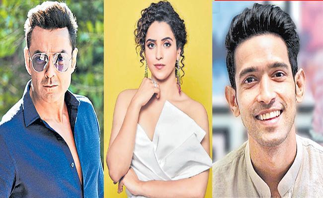 Shah Rukh Khan steps in to back Vikrant Massey-Sanya Malhotra and Bobby Deol - Sakshi