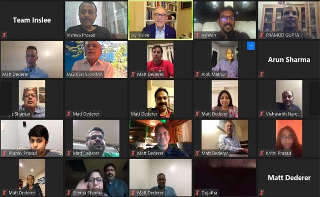 NRI Virtual Fundraising Event In Seattle - Sakshi