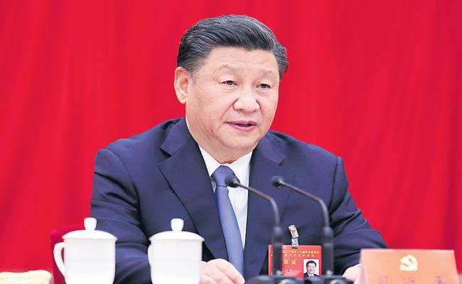 XI Jinping Vision 2035 approved by Chinese Communist Party - Sakshi
