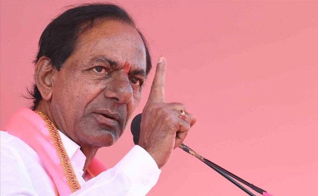 CM KCR Fires On BJP Leaders Over Pension Issues - Sakshi