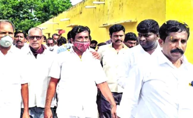 Land Irregularities Of TDP Leaders In Anantapur District - Sakshi