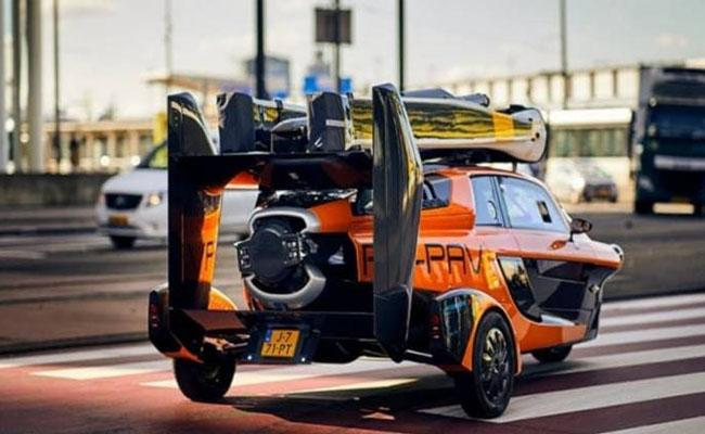 PAL-V Liberty is the worlds first road legal flying car - Sakshi