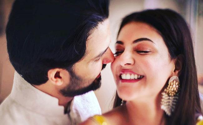 Kajal Aggarwal Postpones Honeymoon For Acharya Shooting - Sakshi