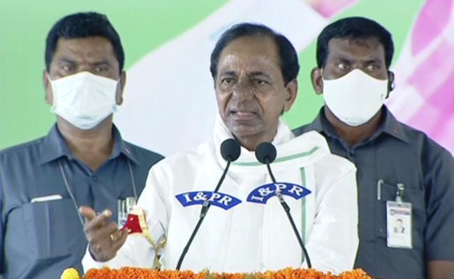 CM KCR Launches Rythu Vedika In Jangaon District - Sakshi