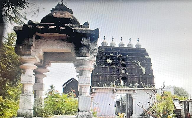 Ramachandraswamy Temple Copper Inscription Tells History In Mahabubnagar - Sakshi