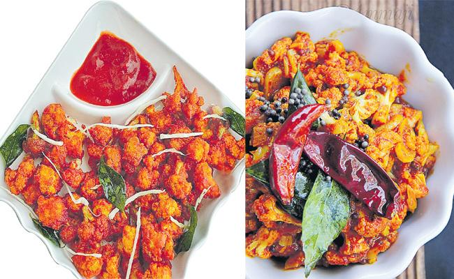 Cauliflower Different Variety Curries Making Special Story - Sakshi