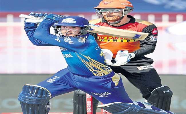 IPL 2020: Mumbai Indians Won The Match Against Sunrisers Hyderabad - Sakshi