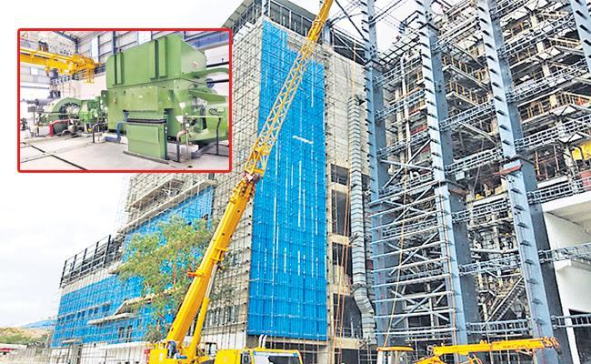 Electricity Production From Jawahar Nagar Dump Yard - Sakshi