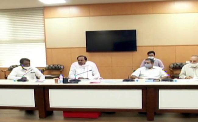 CM KCR Review meeting With Agriculture Officials - Sakshi