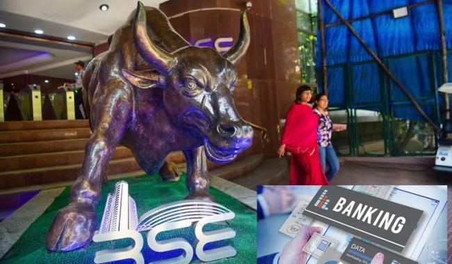 Market high jumps on Private banks support - Sakshi