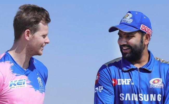 Mumbai Indians Won The Toss And Elected To Bat First Against Rajasthan - Sakshi
