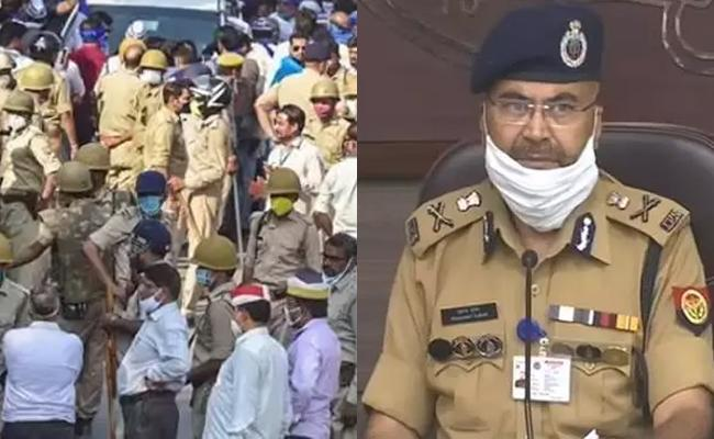 some groups offered 50 lakhs to Hathras girl's family says dgp - Sakshi