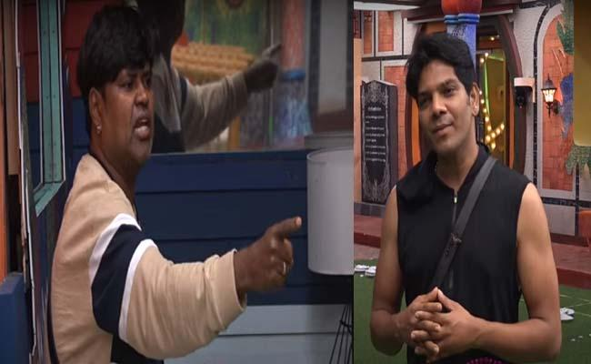 Bigg Boss 4 Telugu: Amma Rajasekhar Angry On Noel Sean - Sakshi