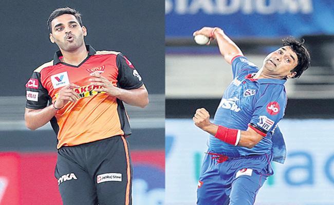 Bhuvneshwar Kumar And Amit Mishra Ruled Out of Season Due to Injuries - Sakshi