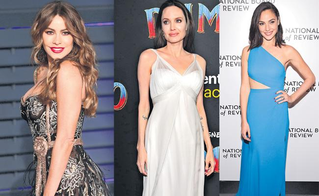Sofia Vergara beats superheroines Angelina Jolie and Gal Gadot to be crowned Forbes - Sakshi