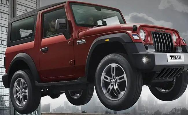 Mahindra Thar Receives Over 9000 Bookings Since Launch  - Sakshi