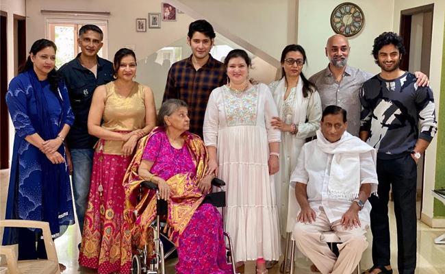 Mahesh Babu Family Celebrates Priya Birthday - Sakshi