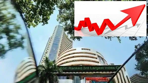 Market ends with rally- Sensex triple century - Sakshi